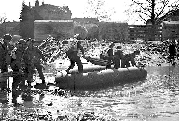 Liberation of Netherlands WWII Canadians